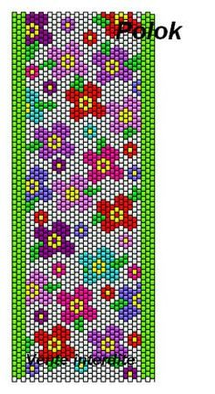 off loom beading stitches Peyote Stitch Patterns, Seed Bead Patterns, Beaded Bracelet Patterns, Beading Patterns, Color Patterns, Crochet Patterns, Loom Bands, Beaded Banners, Cross Stitch Bookmarks