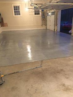 Rust Oleum Epoxyshield 240 Oz Gray High Gloss 2 5 Car Garage