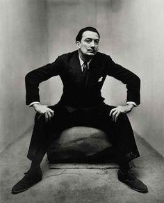 Salvador Dali. Great photo.
