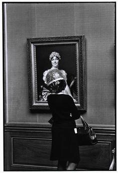 The Frick Collection ~ Elliott Erwitt ~ New York ~ 1969. A jewel box of an art museum.