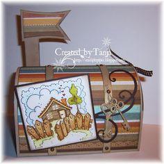 Stempeleinmaleins: Briefkasten / Mail Box