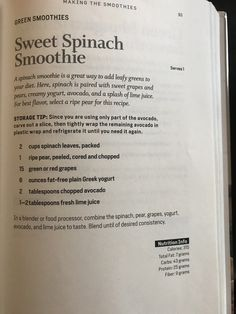 Fitness Smoothies, Diet Smoothie Recipes, Smoothie Drinks, Smoothie Diet, Healthy Smoothies, Fitness Diet, Diet Recipes, Green Smoothies, Body Reset Diet