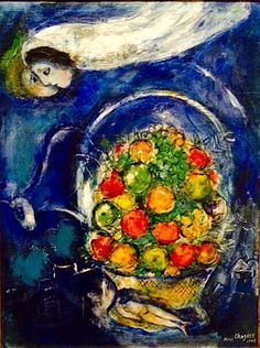 Dreamer by Marc Chagall.