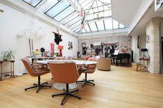 Loft de 184 m² avec toit verrière à Paris
