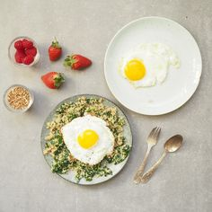 Green Breakfast Bowl - Madeleine Shaw