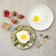 Egg and Quinoa Plate