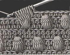 Heirloom Crochet - Vintage Crochet Stitches - DMC by Lynski by blanca Crochet Motifs, Crochet Diagram, Crochet Stitches Patterns, Crochet Chart, Love Crochet, Crochet Designs, Knitting Patterns, Knit Crochet, Crochet Vintage