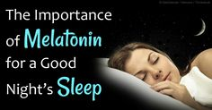 Melatonin is a powerful antioxidant and free radical scavenger that helps fight against inflammation. http://articles.mercola.com/sites/articles/archive/2013/03/19/melatonin-benefits.aspx