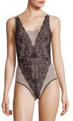 9d41698da7f02 Arianne Catherine Thong Teddy - In the Mood Intimates - Bodysuit ...