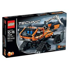 Get behind the wheel of the massive LEGO Technic Arctic truck. This monster snow crawler is designed to surmount giant snowdrifts and arctic terrain. Featuring 4 huge crawler tracks for ultimate maneu...