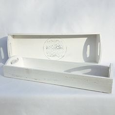 The Stockbridge Rustic Country Tray Set of 2, White Washed Natural Wood, Distressed Finish, By Whole House Worlds, http://www.amazon.com/dp/B019700A6W/ref=cm_sw_r_pi_awdm_-JY7wb18QQKW7