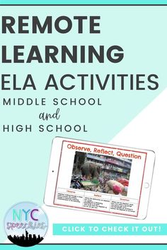 This digital product is the perfect way for middle school and high school students to strengthen their critical analysis and oral communication skills. This activity is sure to engage your students during your next teletherapy or remote learning session! Click to check out all the details! #speechtherapy #slp #ela #middleschool #highschool Middle School Activities, Activities For Teens, Vocabulary Activities, Speech Therapy Activities, Language Activities, Writing Activities, English Language, Language Arts, Oral Communication Skills