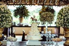 bolo country de casamento