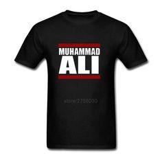 Custom T Shirts Mens T-Shirt New Summer Muhammad Ali Officially Licensed Adult T Shirts Men Cotton Fashion Camisetas T-Shirts #Affiliate