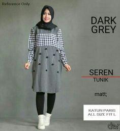 "BAJU LEBARAN TERBARU SEREN TUNIK DARK GREY (Cocok untuk lebaran) EOS 123"" Rp.80.000 ( 9 US$)  Tampil Cantik & Menawan Dengan ""Pakaian muslim""Dari Ads Online Shop  Kode : EOS 123   Bahan / Fabric : Katun Paris  Harga : Rp.80.000  Warna : Abu - Abu  Ukuran : All size fit Xl  Untuk pemesanan silahkan hubungi kami  Dengan fotmat sebagai berikut : Nama/No.Hp/Alamat Lengkap/Produk yang dipesan/Jumlah pesanan/warna kirim ke 0812 – 8509-7353  Email : ezenpratama@gmail.com  Telp :  0812-8509-7353…"