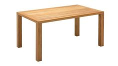 Square XL 92cm x 158cm Table | Gloster Furniture