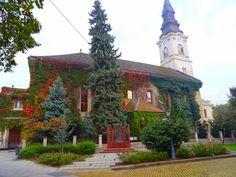 Református templom Kecskemét Gazebo, Outdoor Structures, Kiosk, Cabana
