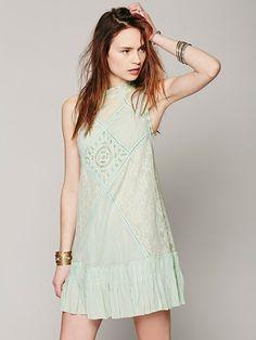 Free People FP ONE Angel Lace Dress, £98.00