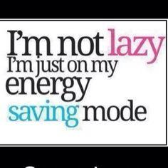 Yo soy muy perezosa pero yo soy atletica. Means: I am very lazy but I am athletic.