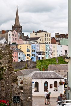 """travel-lusting: """"Tenby, Wales (by David Nicholls) """" Best Of Wales, Cool Places To Visit, Places To Travel, Last Of Summer Wine, Pembrokeshire Coast, Brecon Beacons, Snowdonia, South Wales, Adventure Travel"""