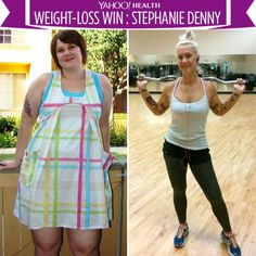 Stephanie Denny currently weighs 175 pounds, but in 2011, she weighed 320 pounds — nearly double her weight today. Here's how she shed the pounds.