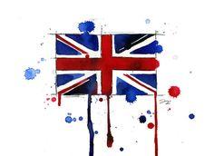 I love United Kingdom print by Jessica Durrant
