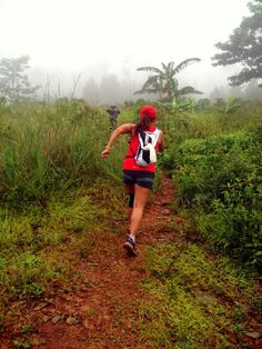 New Year Trail Run  Thick fog, rain, slippery and muddy but it was lotta of fun!!