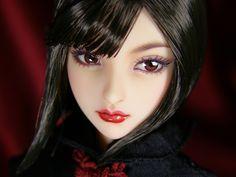 "1/6 custom doll head (Obitsu 01) ""Kōyō"""