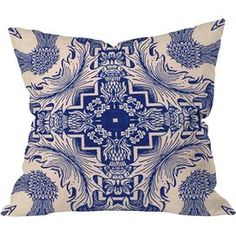 Add a pop of pattern to your sofa or settee with this eye-catching cotton pillow, showcasing a botanical-inspired motif for stylish appeal. Outdoor Throw Pillows, Decorative Throw Pillows, Throw Pillow Sets, Pillow Talk, Detail Art, Cotton Pillow, Beige Area Rugs, Home Art, Design Art