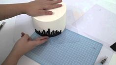 In this mini episode, Sharon (Sharon Wee Creations) shows you how she creates a silhouette skylines and the method she uses to transfer the image. There are ...
