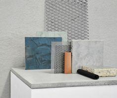Mahani Materials Palette. Studio Toogood