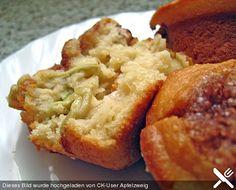 Rhabarber-Marzipan-Muffins