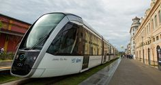 VLT Carioca light rail is one of the big mobility projects created for the 2016 Olympic Game