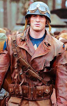 Steve Rogers at war