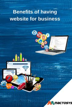 Website is the key to boost your business in this world. Go for web development with Mactosys Software Solution Pvt. Ltd. and stay ahead in the digital World. Visit- www.mactosys.com  #Websitedevelopment #Indore #India