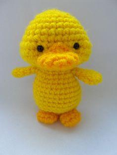 Ravelry: Yellow Duckling pattern by Justyna Kacprzak