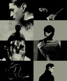 """Tom Riddle: """"Voldemort is my past, present, and future. """""""