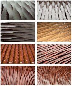 Стеновые панели 3Д из МДФ покрыты несколькими слоями шпона.