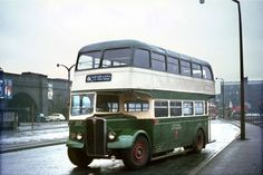 Nottingham City Transport AEC Regent SAU207 Bus Photo  | eBay