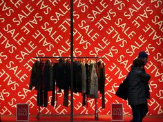 red, sale, pinned by Ton van der Veer