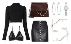 """""""Untitled #20939"""" by florencia95 ❤ liked on Polyvore featuring Balmain, Gianvito Rossi, Chloé, Versus, Lydell NYC, Christian Dior and Anine Bing"""
