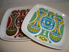 "FIGGJO FLINT ""Granada"" 1960-70'erne - TURID GRAMSTAD OLIVER. . #Figgjo #Flint #Granada #Turid #Gramstad #Oliver #porcelain #dinnerware. From www.TRENDYenser.com. SOLGT."