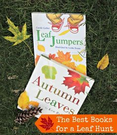 Super books to use on a walk through the trees -- plus some great leaf activities too!