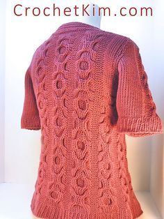 Ravelry: Hugs and Kisses Jacket pattern by Kim Guzman