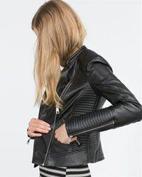 Du Clothes Cuir Meilleures Femme Tableau 182 Images Fashion Veste E84EqX