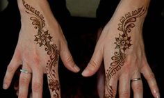 How To Do Simple Henna Designs (2)