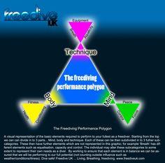 The freediving performance polygon
