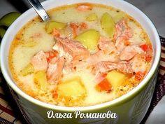 Финский суп с лососем и сливками СвежачОк ☺