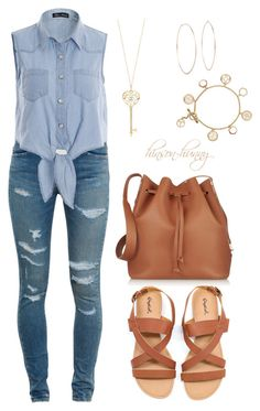 """My Tom Boy"" by hinson-hunny ❤ liked on Polyvore featuring Yves Saint Laurent, Sophie Hulme, Tory Burch and Michael Kors"