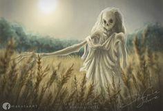POŁUDNICA - Slavic Demonology Midday Demon